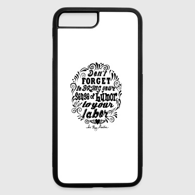 Humor black - iPhone 7 Plus/8 Plus Rubber Case