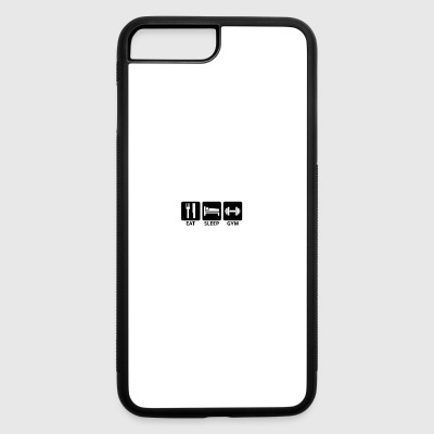 Eat Sleep Gym - iPhone 7 Plus/8 Plus Rubber Case