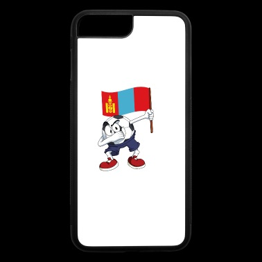 Mongolia Dabbing Soccer Ball - iPhone 7 Plus/8 Plus Rubber Case