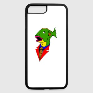 Bidness Fish - iPhone 7 Plus/8 Plus Rubber Case