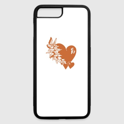 Valentine Hearts - iPhone 7 Plus/8 Plus Rubber Case