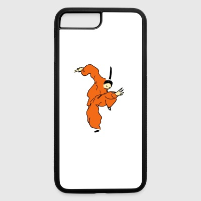 shaolin comic - iPhone 7 Plus/8 Plus Rubber Case