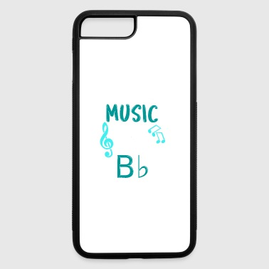 Without Music Life Would B Flat Gift - iPhone 7 Plus/8 Plus Rubber Case