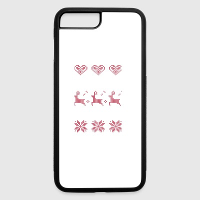 Merry Christmas Coast Guard Everybody Talks About - iPhone 7 Plus/8 Plus Rubber Case