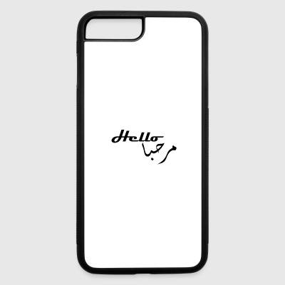 hello - iPhone 7 Plus/8 Plus Rubber Case