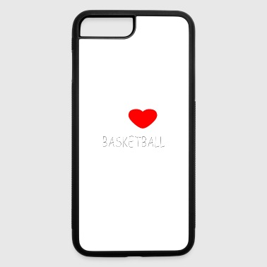 I LOVE BASKETBALL - iPhone 7 Plus/8 Plus Rubber Case