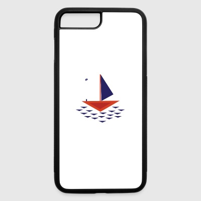 Boat abstract - iPhone 7 Plus/8 Plus Rubber Case