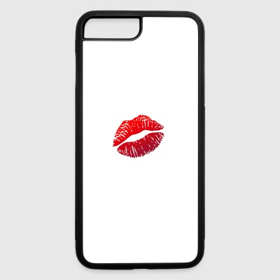 Lipstick Lips Kiss - iPhone 7 Plus/8 Plus Rubber Case