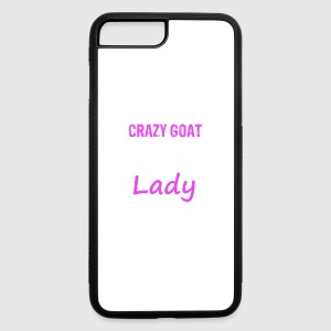Cool Goat lady - iPhone 7 Plus/8 Plus Rubber Case