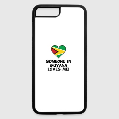 Someone In Guyana Loves Me - iPhone 7 Plus/8 Plus Rubber Case