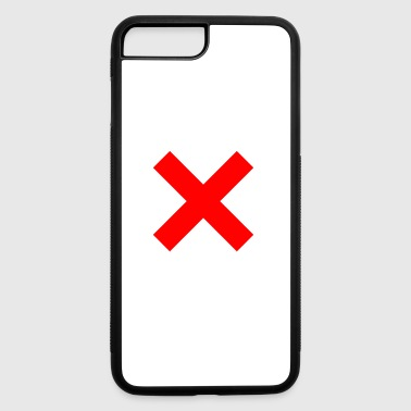 X - iPhone 7 Plus/8 Plus Rubber Case