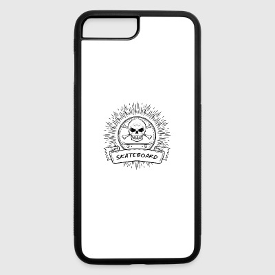 Logo Skate - iPhone 7 Plus/8 Plus Rubber Case