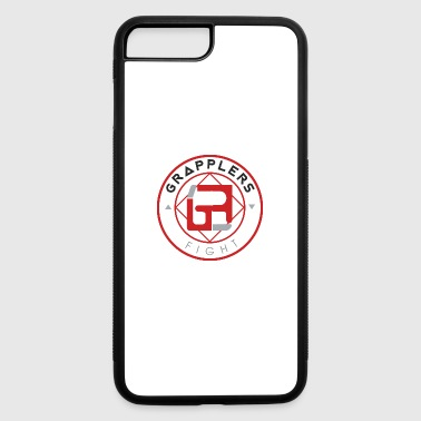 Light 001 grapplersfight LOGO Back - iPhone 7 Plus/8 Plus Rubber Case