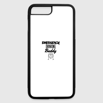 Emergency drinking buddy - iPhone 7 Plus/8 Plus Rubber Case