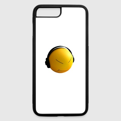 Ball with earphones - iPhone 7 Plus/8 Plus Rubber Case