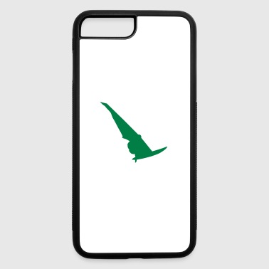 water sport silhouette 2 - iPhone 7 Plus/8 Plus Rubber Case