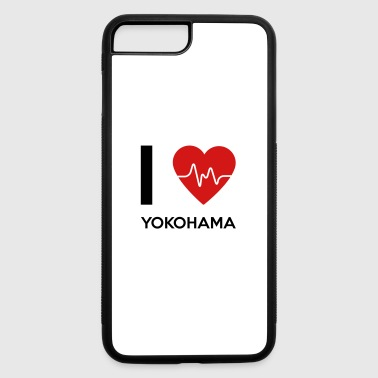 I Love Yokohama - iPhone 7 Plus/8 Plus Rubber Case