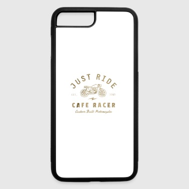 Just Ride Cafe Racer - iPhone 7 Plus/8 Plus Rubber Case