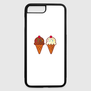 Friendly Ice cream - iPhone 7 Plus/8 Plus Rubber Case