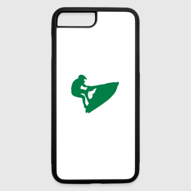 water sport silhouette - iPhone 7 Plus/8 Plus Rubber Case