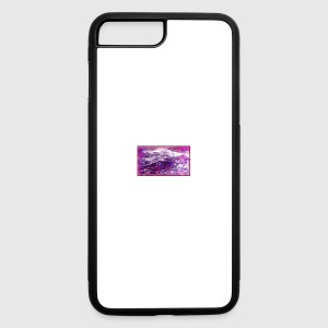 Purple_Waves_Frame - iPhone 7 Plus/8 Plus Rubber Case