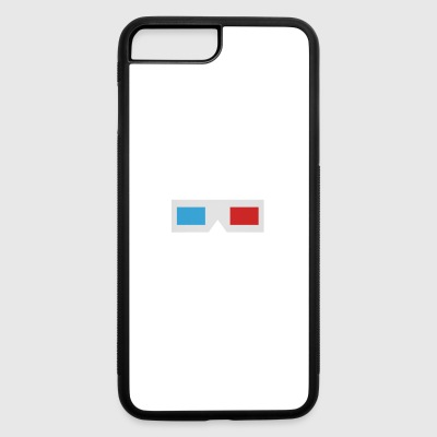 Classic 3D glasses - iPhone 7 Plus/8 Plus Rubber Case