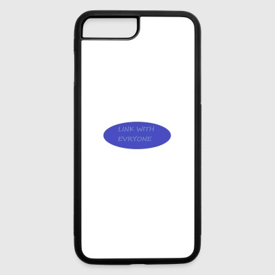 LINK WITH EVERYONE - iPhone 7 Plus/8 Plus Rubber Case