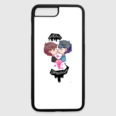 dhan and phil - iPhone 7 Plus/8 Plus Rubber Case