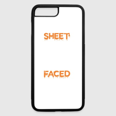 Sheet Faced Boo Halloween - iPhone 7 Plus/8 Plus Rubber Case
