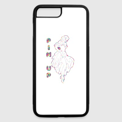 PIN_UP_GIRL_IN_DRESS - iPhone 7 Plus/8 Plus Rubber Case