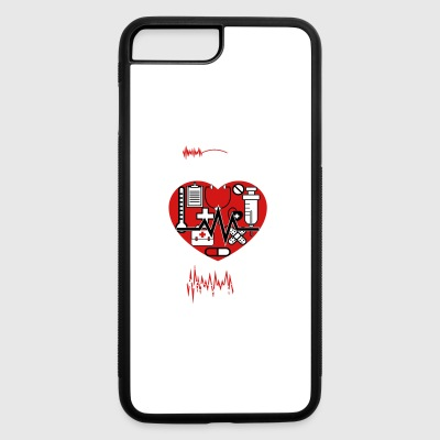 Valentines Shirt - iPhone 7 Plus/8 Plus Rubber Case