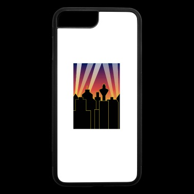 city sky and lights - iPhone 7 Plus/8 Plus Rubber Case