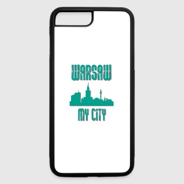 Warsaw MY CITY - iPhone 7 Plus/8 Plus Rubber Case