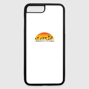 Punta Cana Sunset And Palm Trees Beach - iPhone 7 Plus/8 Plus Rubber Case