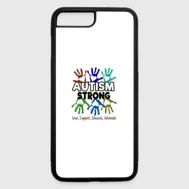 Autism Awareness Autism Strong - iPhone 7 Plus/8 Plus Rubber Case