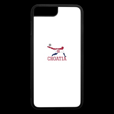 croatia soccer, #croatia - iPhone 7 Plus/8 Plus Rubber Case