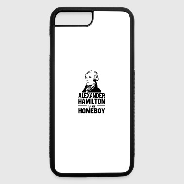 hamilton is homeboy - iPhone 7 Plus/8 Plus Rubber Case