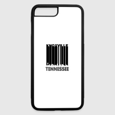Retro Knoxville Tennessee Skyline - iPhone 7 Plus/8 Plus Rubber Case