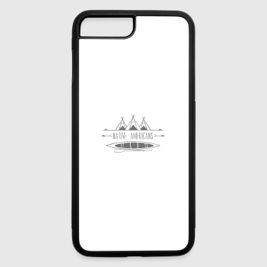 Native American pattern/Native american drawings - iPhone 7 Plus/8 Plus Rubber Case