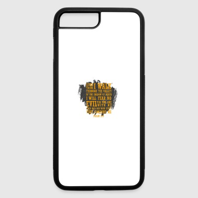 Even I walk through the valley(Psalm23:4) - iPhone 7 Plus/8 Plus Rubber Case