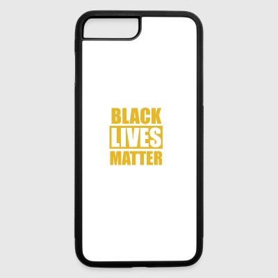 Black lives matter movement protest art apparel - iPhone 7 Plus/8 Plus Rubber Case