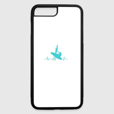 Water Sail Water Sports Heartbeats - iPhone 7 Plus/8 Plus Rubber Case