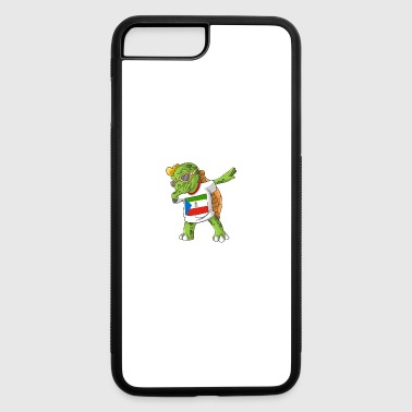 Equatorial Guinea Dabbing Turtle - iPhone 7 Plus/8 Plus Rubber Case