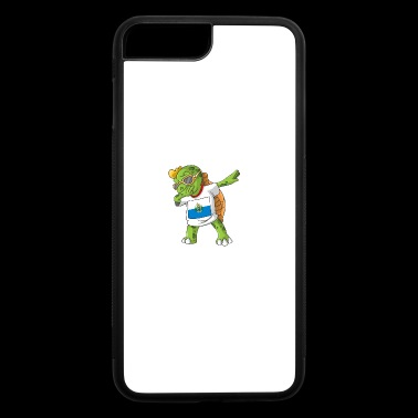 San Marino Dabbing Turtle - iPhone 7 Plus/8 Plus Rubber Case
