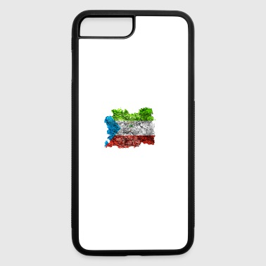 Equatorial Guinea Vintage Flag - iPhone 7 Plus/8 Plus Rubber Case