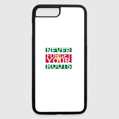 never forget roots home Suriname - iPhone 7 Plus/8 Plus Rubber Case