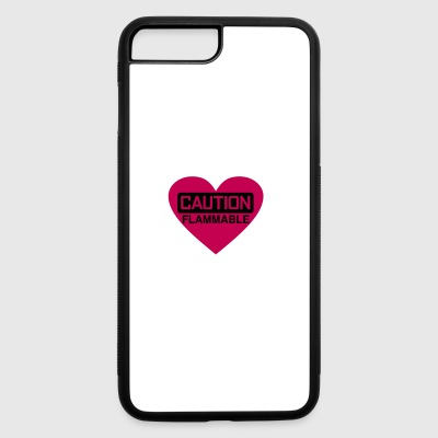 heart - iPhone 7 Plus/8 Plus Rubber Case