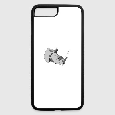 rhinoceros - iPhone 7 Plus/8 Plus Rubber Case