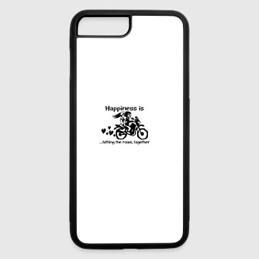 Bike couple Love - iPhone 7 Plus/8 Plus Rubber Case