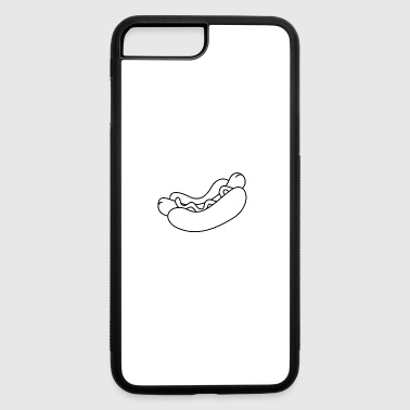 hotdog hot dog sausages fast food fastfood10 - iPhone 7 Plus/8 Plus Rubber Case